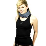 Wave Records Girl Tank Shirt (Black)