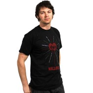 The Killers -Day & Age Heart Shirt (Black)
