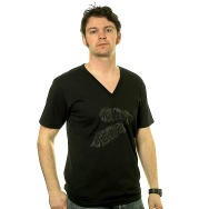 Midnight Operator V- Neck Shirt (Black)