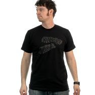 Midnight Operator Shirt (Black / Grey Print)