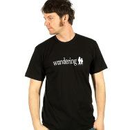 Wandering Logo Shirt (Black)