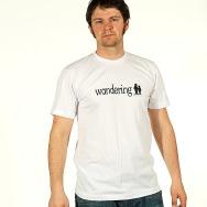 Wandering Logo Shirt (White)