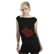 Miss Kittin & the Hacker - Logo Dress (Black)