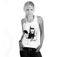 Miss Kittin & the Hacker Unlimited Tank Top (White)