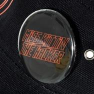 Miss Kittin & the Hacker Button (4,5 cm / Black)