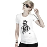 Girl Shirt 10 Years of Poker Flat Rec (White)