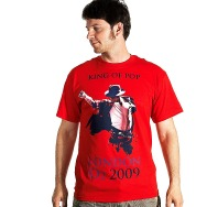 Michael Jackson - King of Pop Shirt (Red)