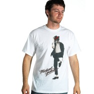 Michael Jackson - Dancer at Large Shirt (White)