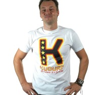 Kuduro Sound System Big K Shirt (White)