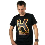 Kuduro Sound System Big K Shirt (Black)