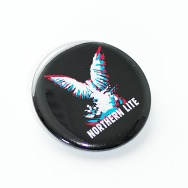 Button Northern Lite - Adler (35mm, Black)