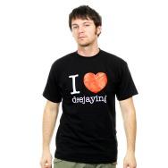 I Love Deejaying Shirt (Black)