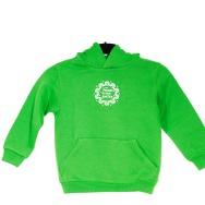 FAT Basic Logo Hoody Kids (Green)