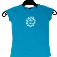 Youth FAT Girl Shirt (Blue)