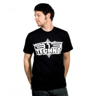 313 Techno -Scan 7 Shirt (Black)