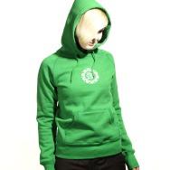 FAT Hooded Girl Sweater (Kelly Green)