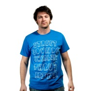 Streetsounds Swirling Thru My Mind Shirt (Blue)
