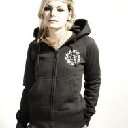 FAT Hooded Girl Jacket (Asphalt)