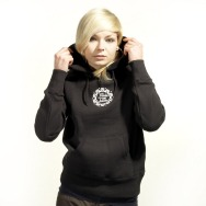 FAT Hooded Girl Sweater (Black)