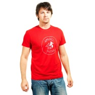 Apparel Music Shirt (Red)