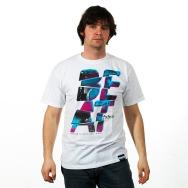 Fraktal Beats Shirt (White)