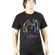 John Lennon Face Shirt (Black)