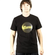 Warp Rec Shirt Andy Gilmore Design (Black)