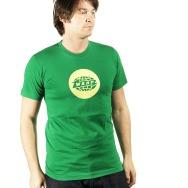 Warp Rec Shirt (Yellow on Green)