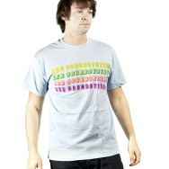 LCD Soundsystem Logo Shirt (Light Blue)