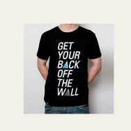 Moonbootica - Get Your Back off the Wall T-Shirt (Black)