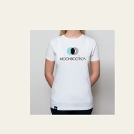 Moonbootica - Logo T-Shirt - Girls (white)