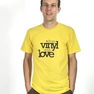 From Vinyl with Love Shirt (Sunshine Yellow)