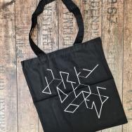 Dirty Doering Bag (Black-White Print)