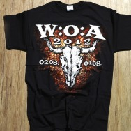 Wacken 2012 T-Shirt (Black)