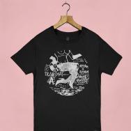 Transmat Nude Photo T-Shirt (Black)