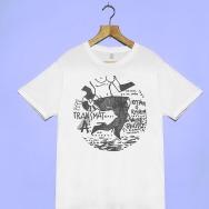 Transmat Nude Photo T-Shirt (White)