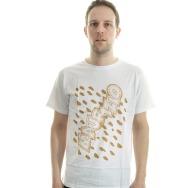 Maurizio By Gin N. Guice Shirt (White/Brown Print)