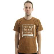 Vinyl Kills the MP3 Industry (Brown)