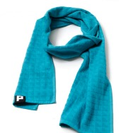 Punchi Towelling Scarf (Trippy Turquoise)