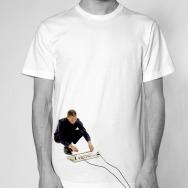 Jeff Mills - Exhibitionist 2 Shirt (White)