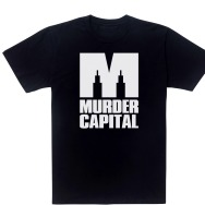 Murder Capital Logo T-Shirt (Black)