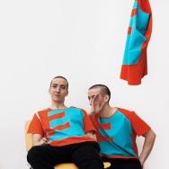 Perlon Shirt (Letter E - Orange)