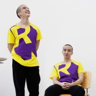 Perlon Shirt (Letter R - Yellow)