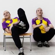 Perlon Shirt (Letter O - Purple)
