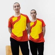Perlon Shirt (Letter P - Red)