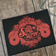 Shipwrec Woven Patch (Red)