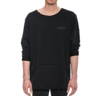 Cocoon Sweater (Black on Black)