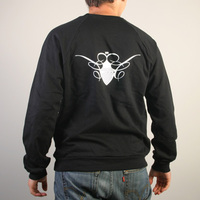 Cocoon Logo Sweater (Black / White)