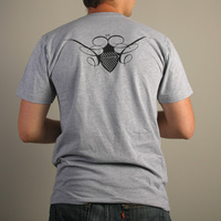 Cocoon Logo Shirt (Grey / Black)