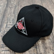 Intergalactic FM Away Team Cap (Black)